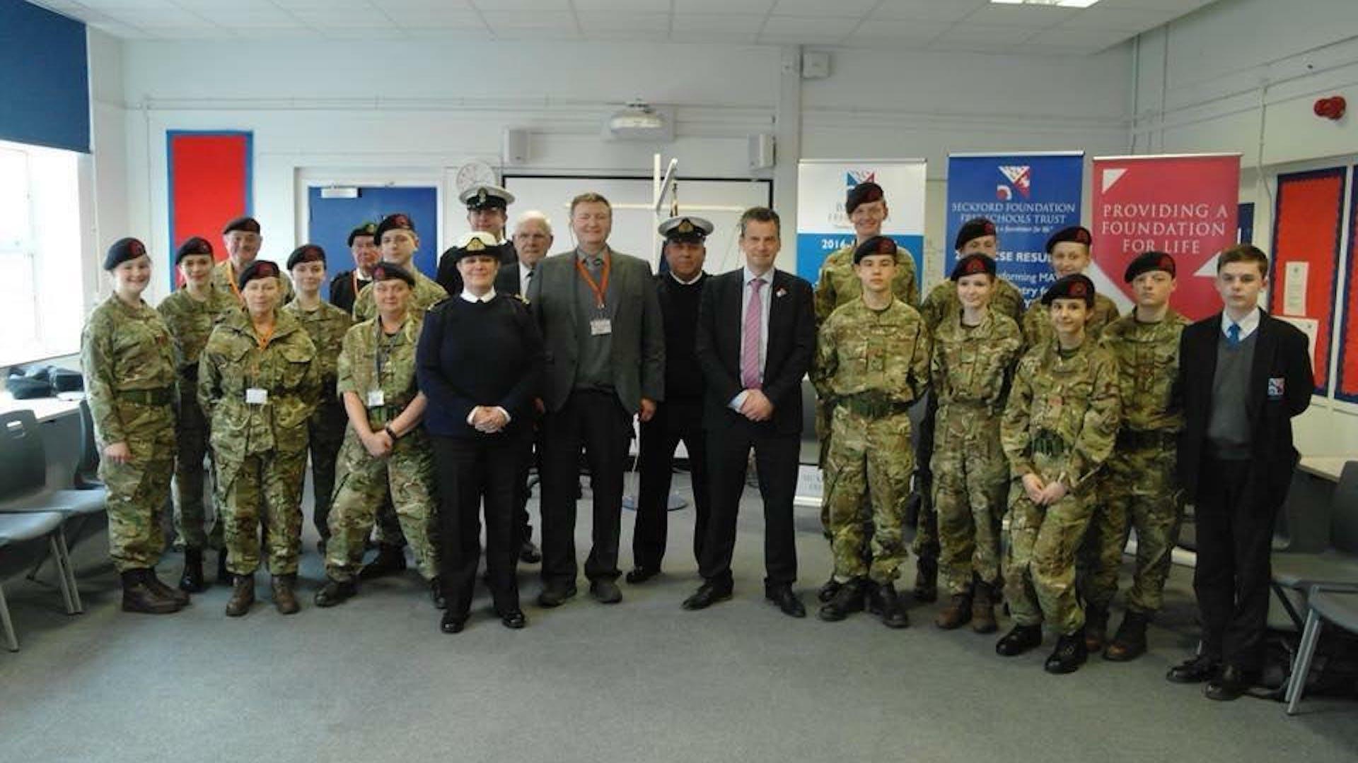 Beccles Free School Royal Marine Cadets 1