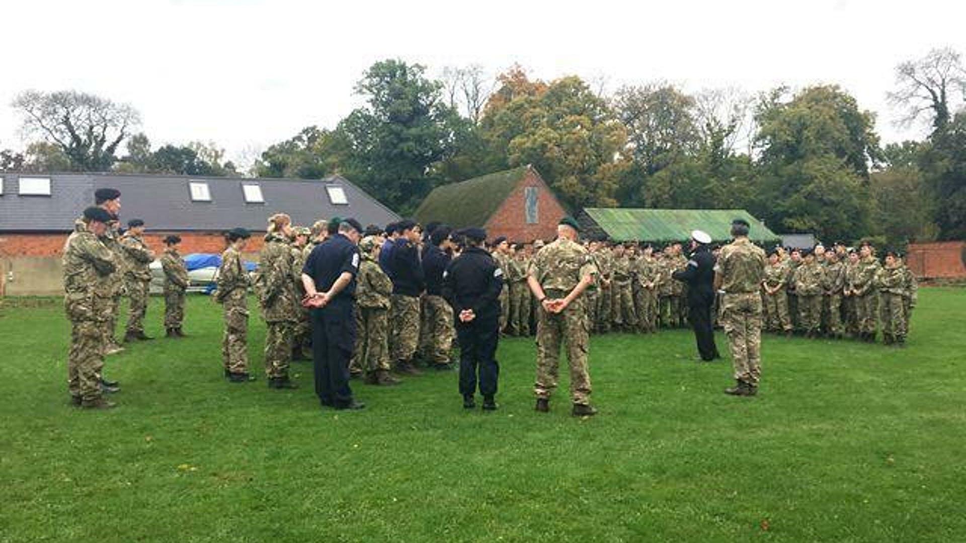 Cadets inspection 1