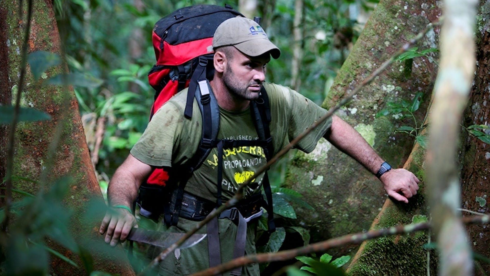 Ed Stafford Walking The Amazon courtesy of Keith Ducatel 1