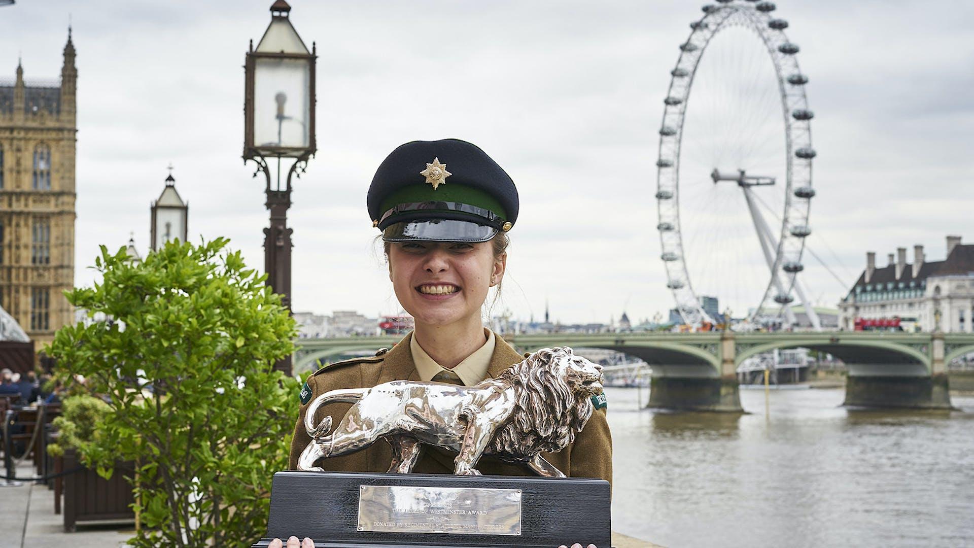 Isabella Scanio Duke of Westminster winner 1