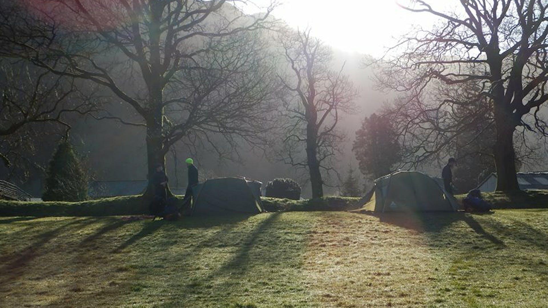 Myles Ripley Sedbergh School dawn scene Seathwaite Lake District 1