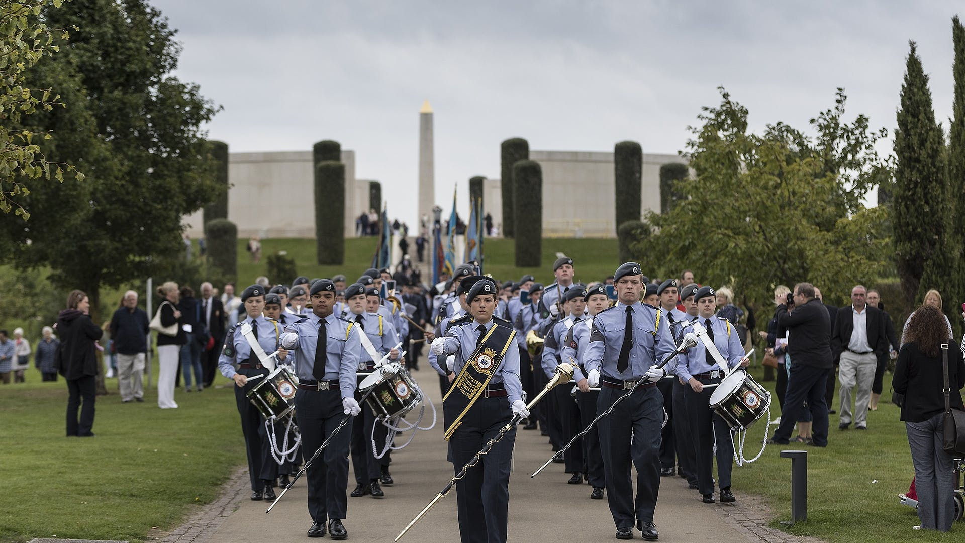 RAF marching band news 2 1